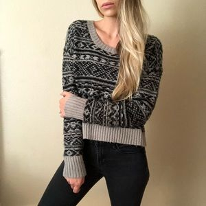 {Decree} vintage fuzzy sweater